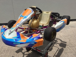 Exprit racing kart/OTK Rotax engine